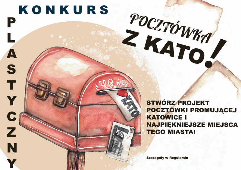 plakat pocztowka z kato
