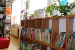 Zdjęcie biblioteki szkolnej